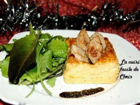 blogs cuisine facile recettes de boudin blanc et feuilletés