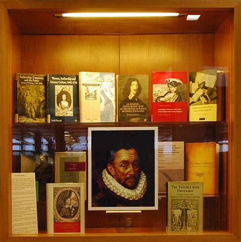 Vitrine Four Early Modern Authorship Faces Of Authorship