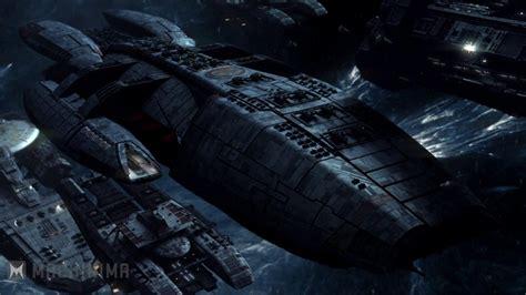 galactica battlestar bsg blood chrome war battlestars jupiter class colonial fleet ship cylon hangar deadlock season weapons resurrection res shot