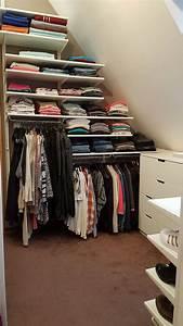 Begehbarer Kleiderschrank Dachgeschoss : die 25 besten ideen zu begehbarer kleiderschrank ikea auf pinterest begehbarer schrank ~ Sanjose-hotels-ca.com Haus und Dekorationen