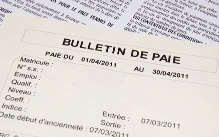 salaire d un chef de cuisine comment établir un bulletin de paie pratique fr