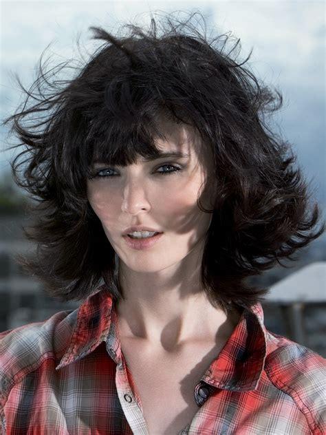 layered feminine haircut    good   wind