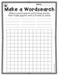 best 25 create a wordsearch ideas on pinterest create With create your own word search template