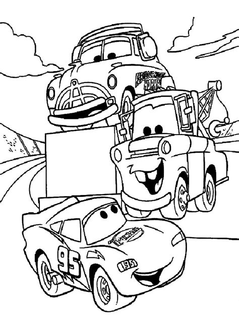 disney cars coloring pages  large images arts