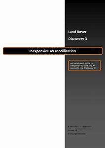 Range Rover Discovery Workshop Manual