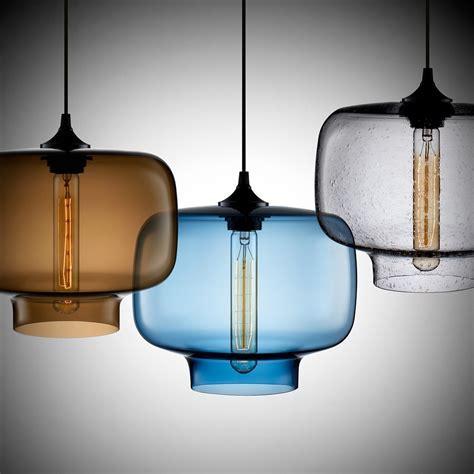 Decorations Modern Glass Pendant Lights For Kitchen