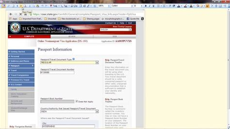 ds 160 form for parents how to fill ds 160 form step by step instructions easy