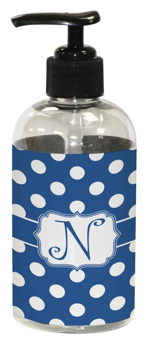polka dots plastic soap lotion dispenser personalized potty training concepts