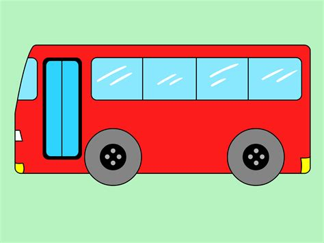draw  bus  steps  pictures wikihow