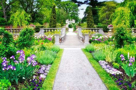The Gardens At Old Westbury Gardens, Long Island, New York