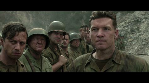 Hacksaw ridge opens on a battlefield, blood spurting and bodies flying gracefully in a ballet of limbs. Getmybuzzup | Hacksaw ridge, Biopic movies, Mel gibson