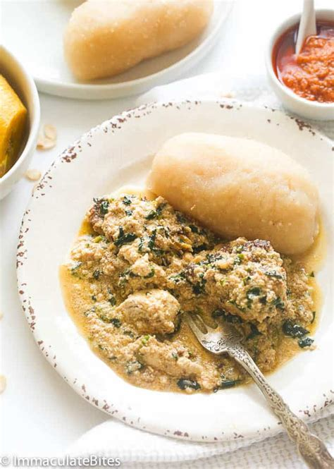 Egusi soup is native to the westerners in nigeria (the yorubas) but it's loved and enjoyed by most nigerians. Egusi soup(with lumps) - Immaculate Bites