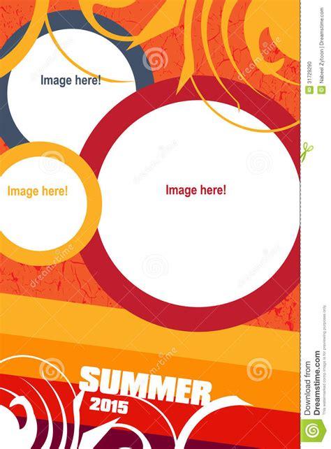 leaflet design stock photo image