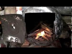 Feu A Bois : premier feu du po le bois fait dans une bouteille de gaz ~ Melissatoandfro.com Idées de Décoration