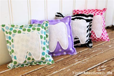 children s pillow diy tooth pillow mountain view pediatric dentistry
