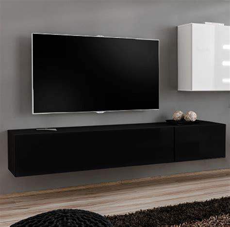 mueble tv modelo berit  en color negro