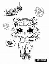 Lol Coloring Disco Surprise Omg Dolls Youloveit sketch template