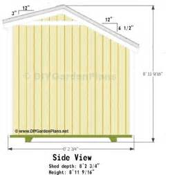 12x12 Shed Plans With Loft by 10x8 Saltbox Shed Plans