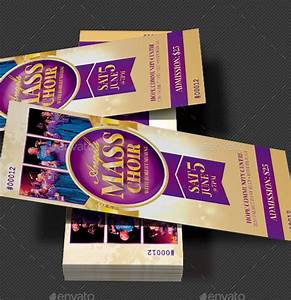 21 sample concert ticket templates sample templates for Ticket template psd