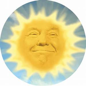 """""""Teletubbies Sun Trump"""" Stickers by lilpumpkineater"""