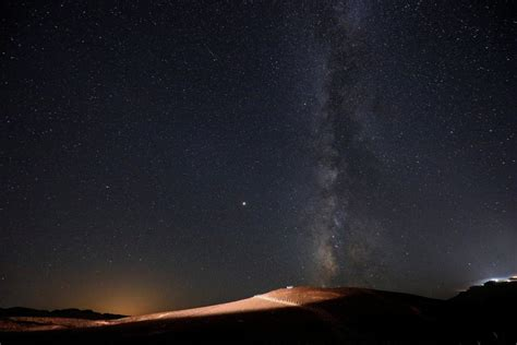 Meteor Shower August 13 - perseids meteor shower in the negev hamodia