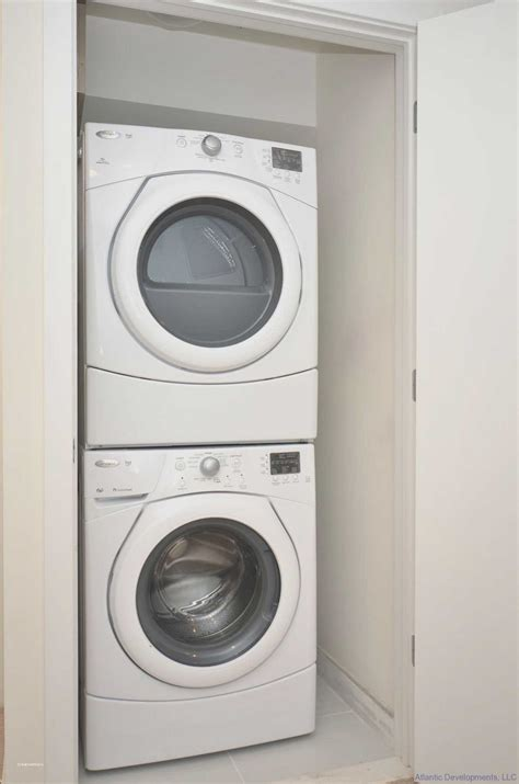Closet Size For Stackable Washer And Dryer by Luxury Laundry Room Ideas Small Stackable Closet