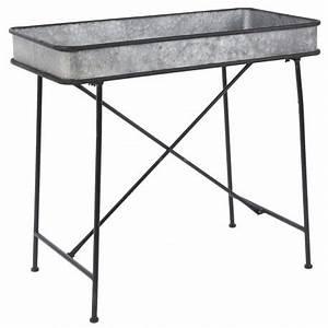 Table Basse Campagne Chic : table basse en zinc campagne chic ib laursen 3423 00 ~ Teatrodelosmanantiales.com Idées de Décoration