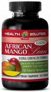 African Mango Extract Lean - Belly Fat Burner - Weight Loss Dietary Pills