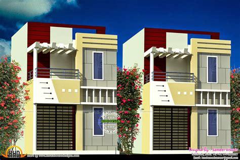 row home plans kerala home design and floor plans row house design