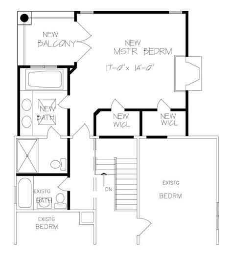 master bedroom addition floor plans find house plans