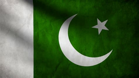 Pakistan Flag Animated Wallpaper - animation of pakistan country flag motion background