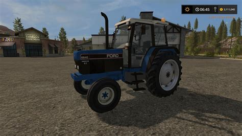 small antique ls ford 6640 2wd v1 tractor farming simulator 2017 mod fs 2328