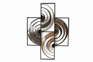 Sculpture Metal Murale : sculpture murale metal decoration deco tableau coloree ~ Teatrodelosmanantiales.com Idées de Décoration