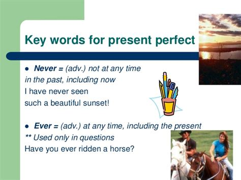 Present Perfect Powerpoint