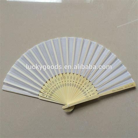 custom printed fans for weddings wholesale wedding souvenir white hand fans custom printed