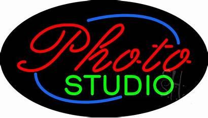 Neon Studio Sign Signs Flashing