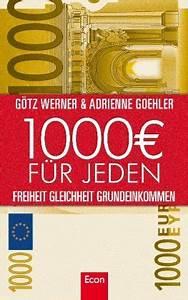 Küche Für 1000 Euro : 1000 euro f r jeden buch zum grundeinkommen lesenotizen ~ Markanthonyermac.com Haus und Dekorationen