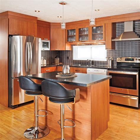 cuisine chaleureuse contemporaine une cuisine chaleureuse et moderne cuisine avant après