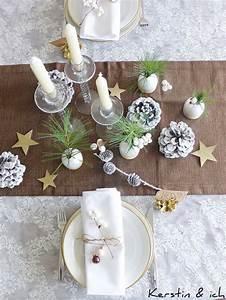 Tischdeko Weihnachten Selber Machen : kerstin ich selbermachen weihnachtliche tischdeko mit ~ Watch28wear.com Haus und Dekorationen