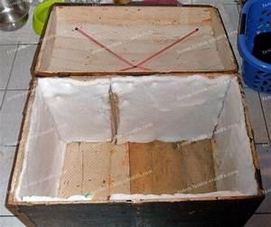 Malle En Bois : r nover une ancienne malle de voyage en bois conseils ~ Melissatoandfro.com Idées de Décoration