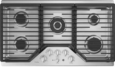 ge parts wbxbcc complete cooktop kit  profile  cafe gas cooktops great   holidays