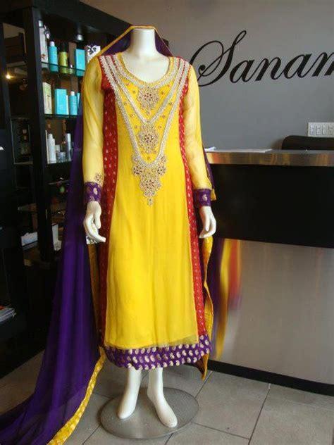 latest bridal mehndi dresses collection