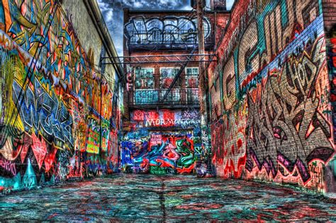 Graffiti Street : Steven Goodenbour Photography