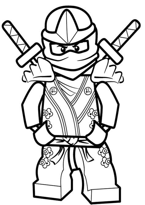 lego ninjago ninja lloyd coloring pages sketch coloring page