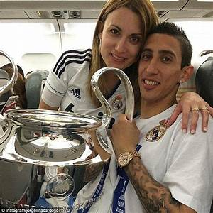 Angel di Maria's wife Jorgelina Cardoso posts photo with ...