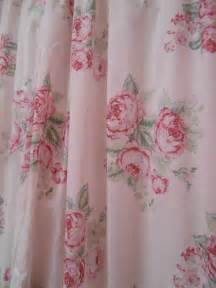 pink shower curtains shabby chic bathroom shower curtains