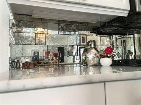 mirrored backsplash in kitchen best 25 mirrored subway tiles ideas on small