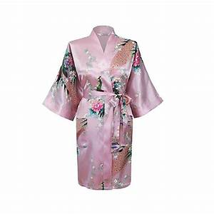 online buy wholesale satin kimono robe from china satin With robe kimono longue