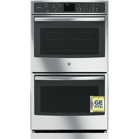 ptsfss ge profile series  built  double wall oven  convection