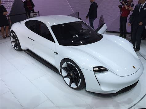 porsches  volt fast charging  electric cars
